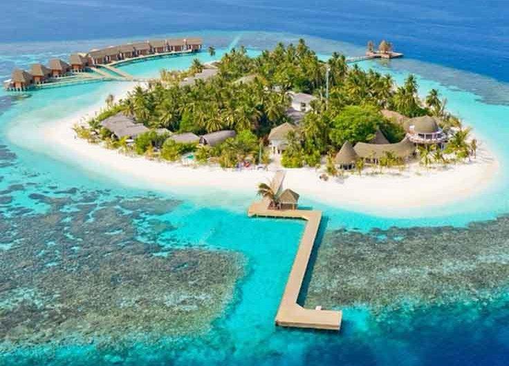 Descubriendo la Isla Kandolhu, en las Maldivas