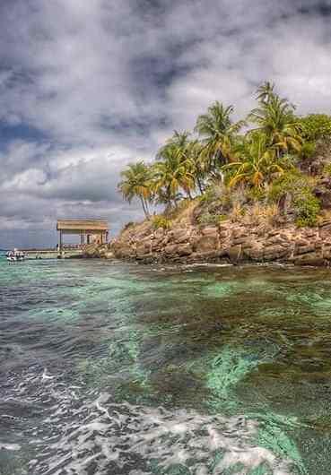 La exclusiva isla de Musha Cay, en las Bahamas