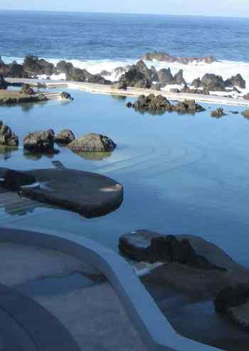piscinas De lava de madeira