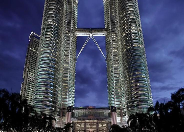 Las Torres Petronas de Kuala Lumpur, Malasia
