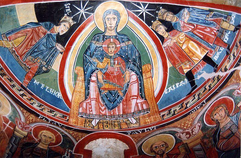 El Cristo Pantocrátor de San Clemente de Tahull