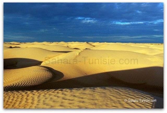 Le Sahara sous l'orage