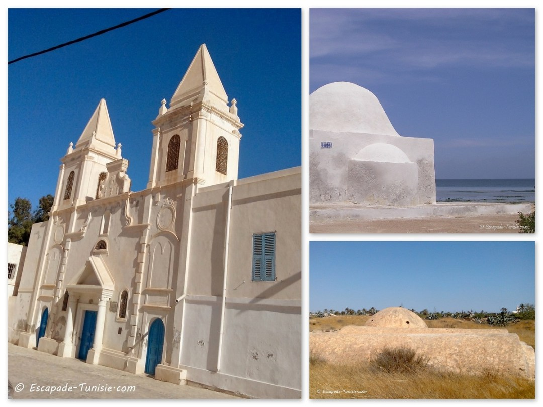 djerba eglise mosquee marabout