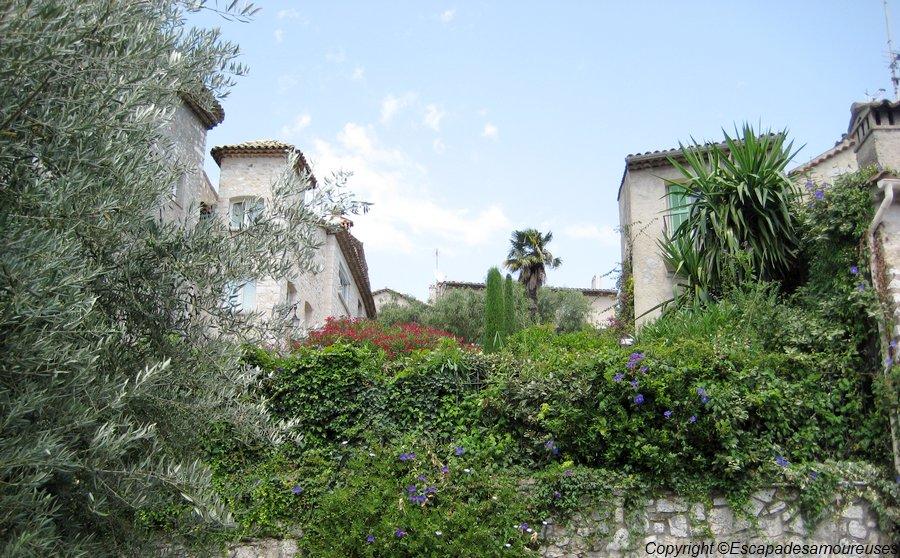 #En France aussi : Saint-Paul-de-Vence un village de charme.