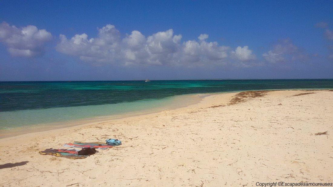 Guadeloupe plage ilet caret