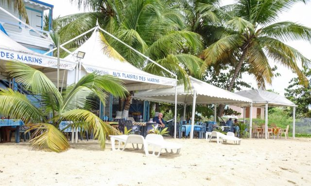 Aux plaisirs des marins restaurant marie-Galante