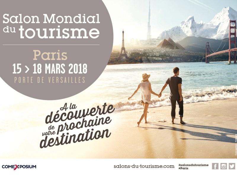 Salon Mondial du Tourisme à Paris, vous viendrez me rencontrer?