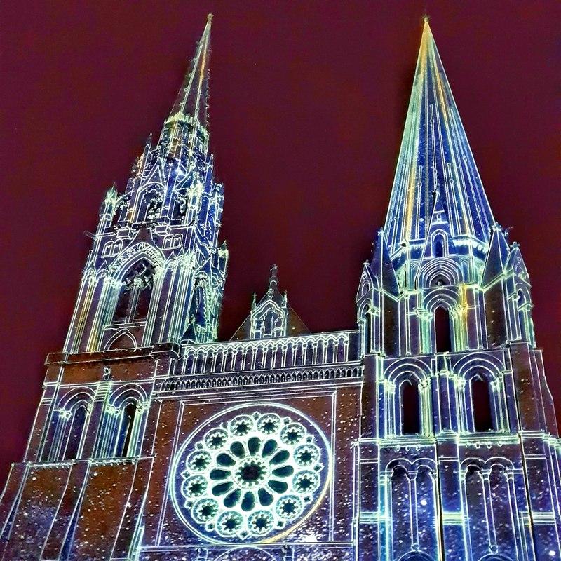 Chartres en lumières 2018 escapades amoureuses
