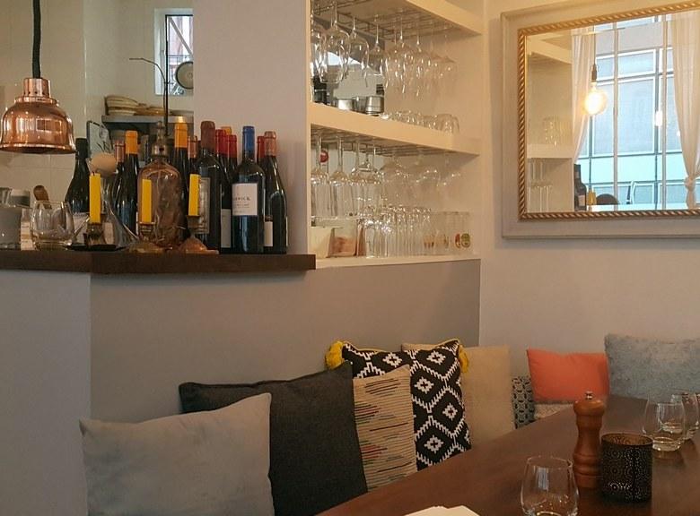 Restaurant La Dilettante à Paris.