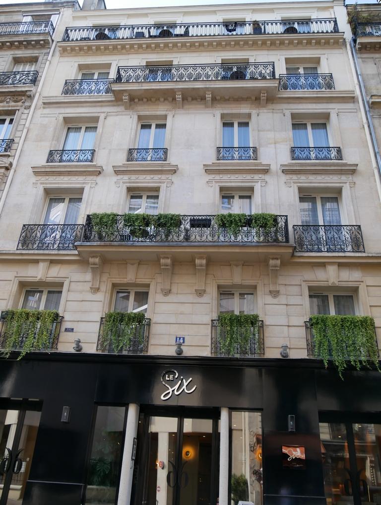 escapades amoureuses hôtel spa le Six Paris