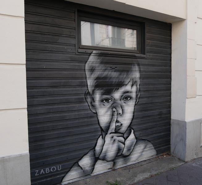 street art butte aux cailles avec Cultival