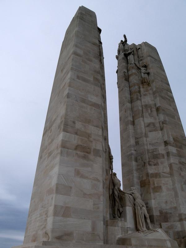 Memorial canadien de Vimy, grande guerre 14-18