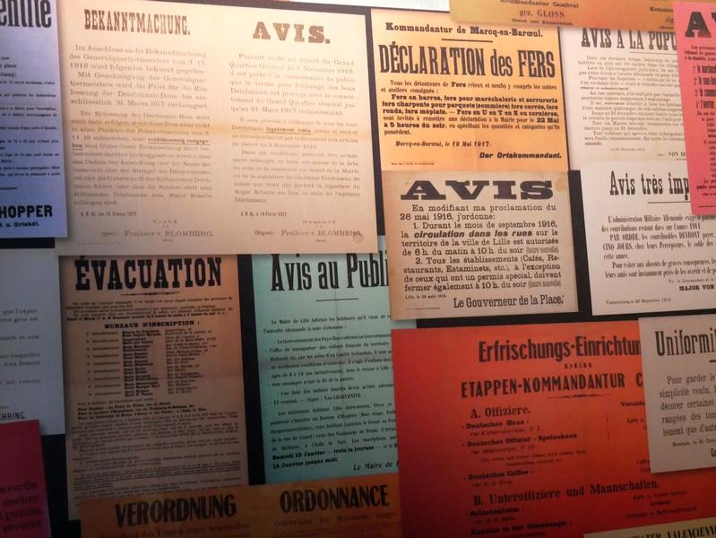Lens 14-18 centre d'histoire guerre et paix à Souchez
