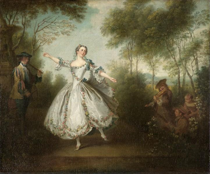 Nicolas Lancret_La Camargo dansant