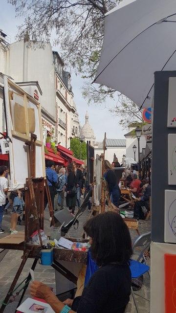 une journée à Montmartre restaurant la bonne franquette escapades amoureuses place du tertre