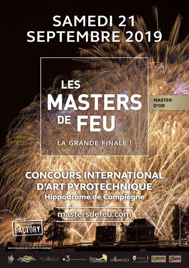 les masters de feu samedi 21 septembre à Compiègne