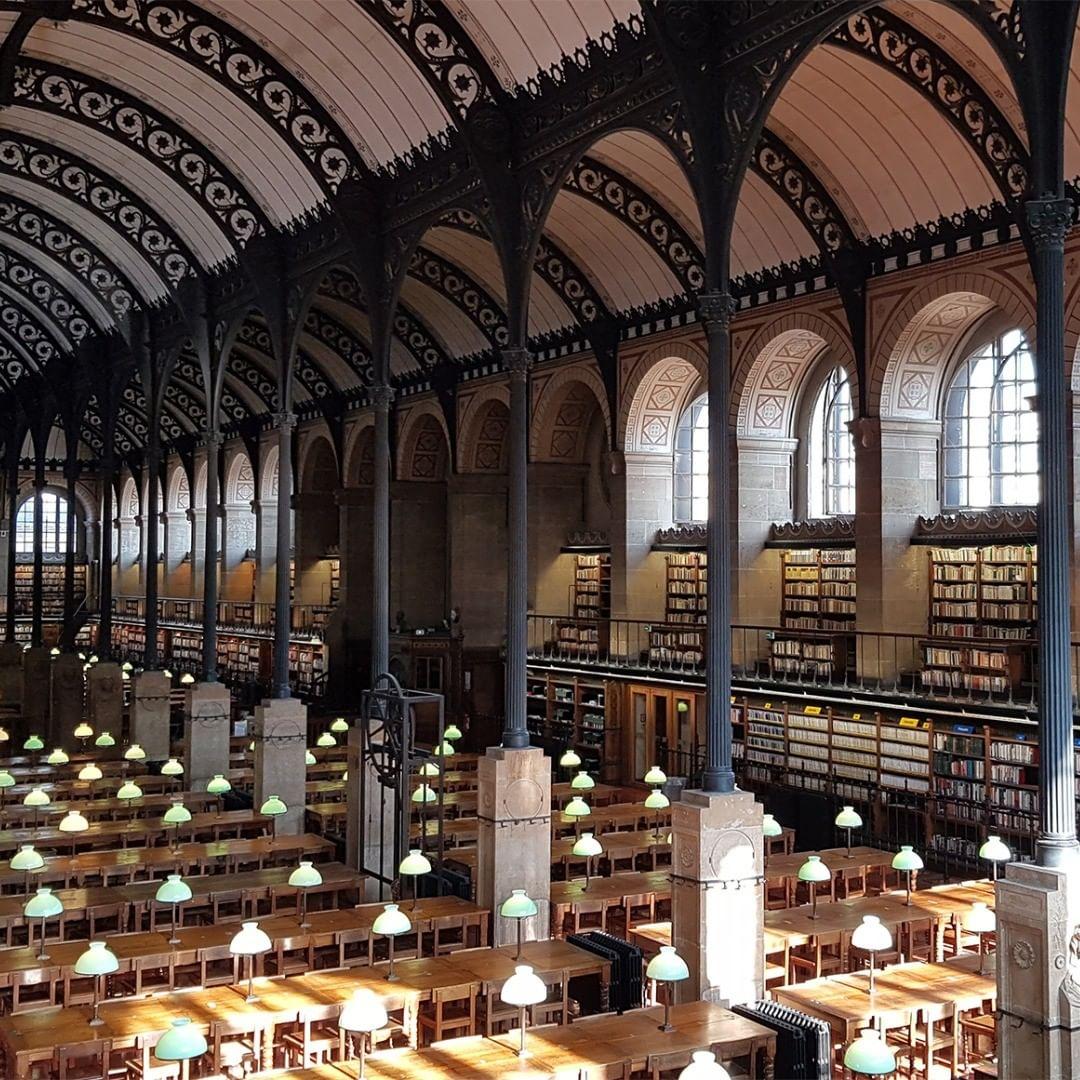Biblioteca Sainte Geneviève 3 credit Biblioteca Sainte Geneviève