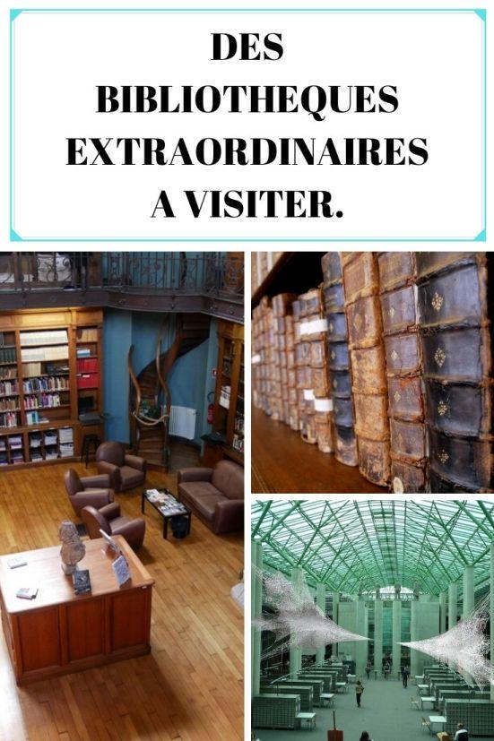 Des bibliothèques extraordinaires à visiter