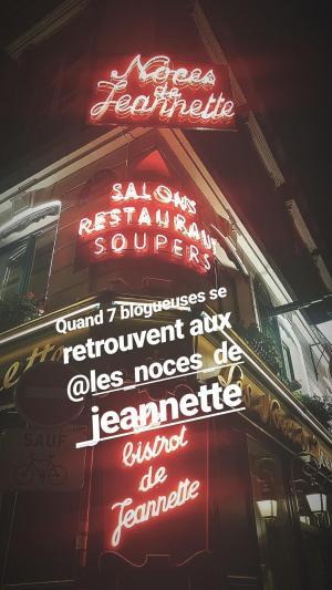 Les noces de Jeannette Paris