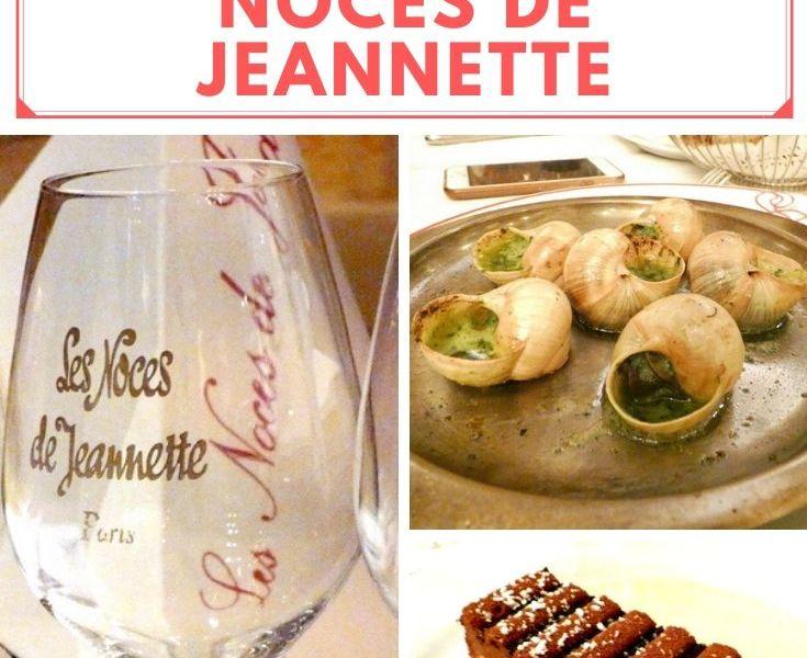 Rendez-vous au restaurant Les Noces de Jeannette.