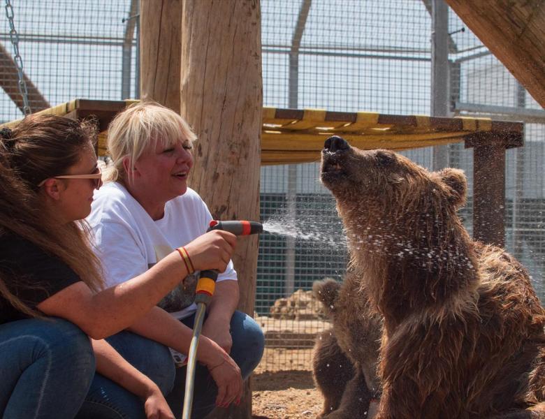 Patrick Violas créateur du Zoo-refuge La Tanière.