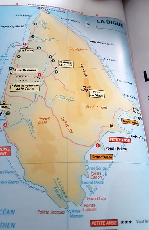 ile de la digue Seychelles Michelin voyages