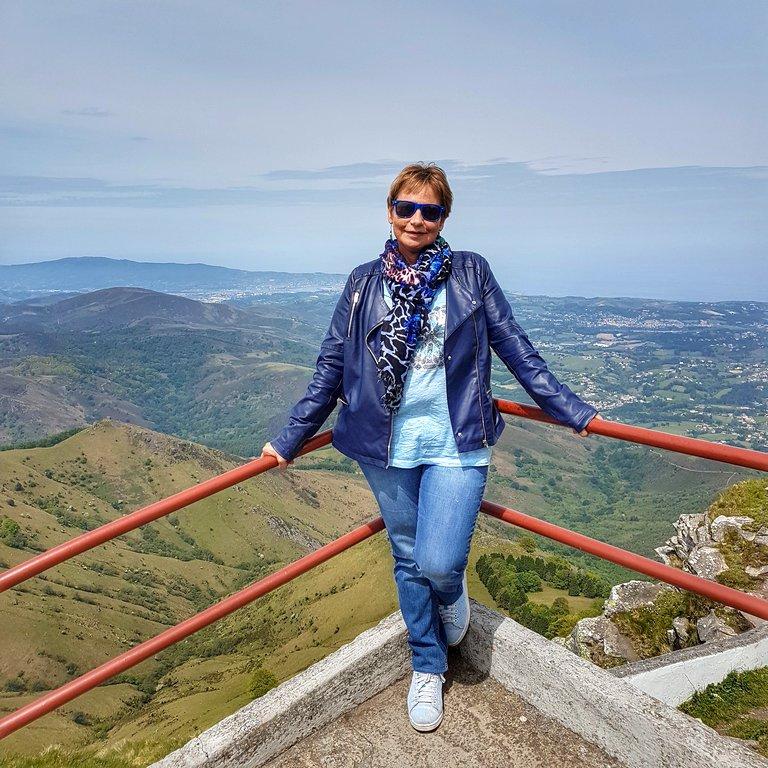 Au sommet de la rhune Pays basque