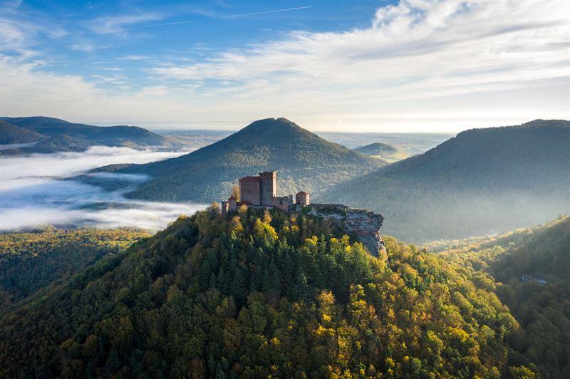 Allemagne romantique Chateau de Trifels