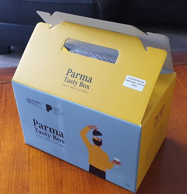 Parma tasty box chambre de commerce italienne septembre de la gastronomie
