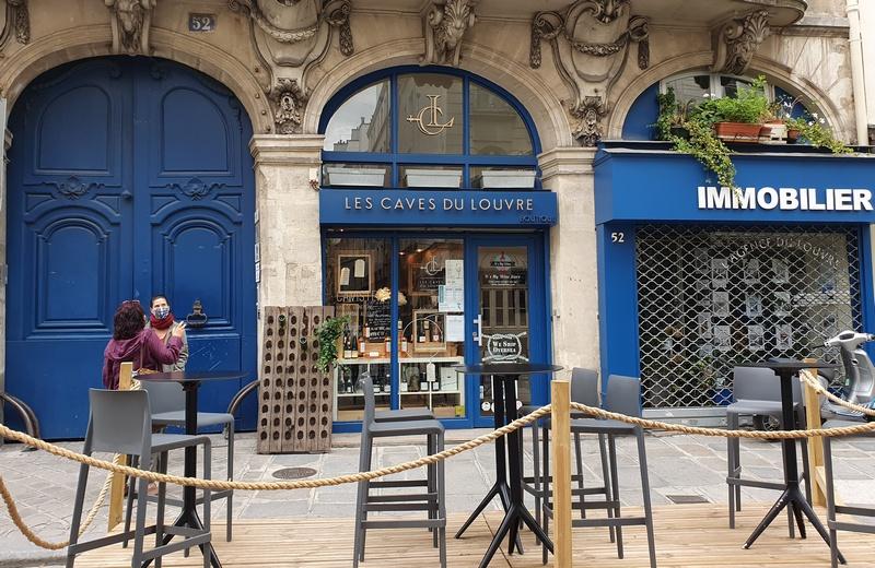 Les caves du Louvre Escapades amoureuses