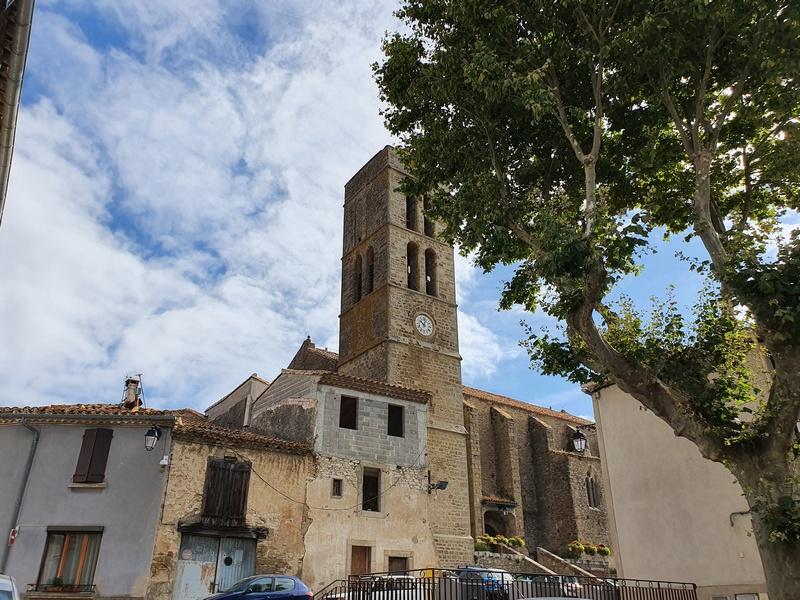 eglise sainte-Etienne Trèbes
