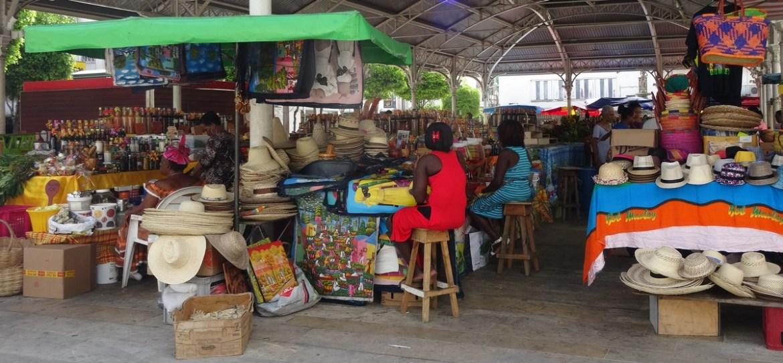 guadeloupe marché de Pointe-à-Pitre