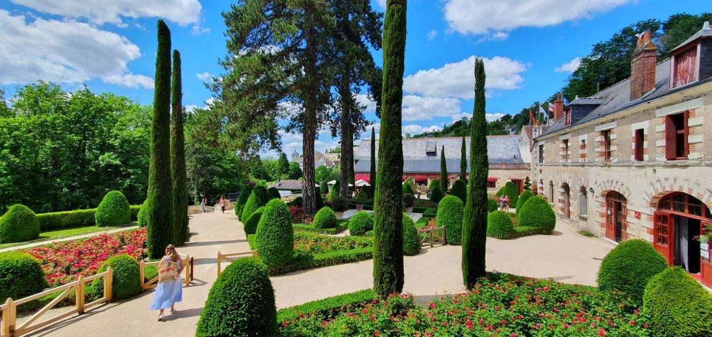 le parc Leonard de Vinci au Clos Lucé à Amboise escapades amoureuses