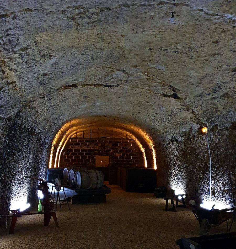 l'odyssée des millesimes aux caves Ambacia à Amboise