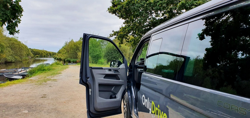 un roadtrip en van seule à 58 ans parc naturel de Brière