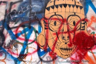 Art éphémère dans les rues de Naples