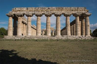 hera paestum - colonnes doriques