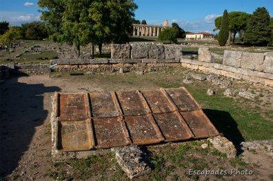 Paestum cité grecque -Herôon
