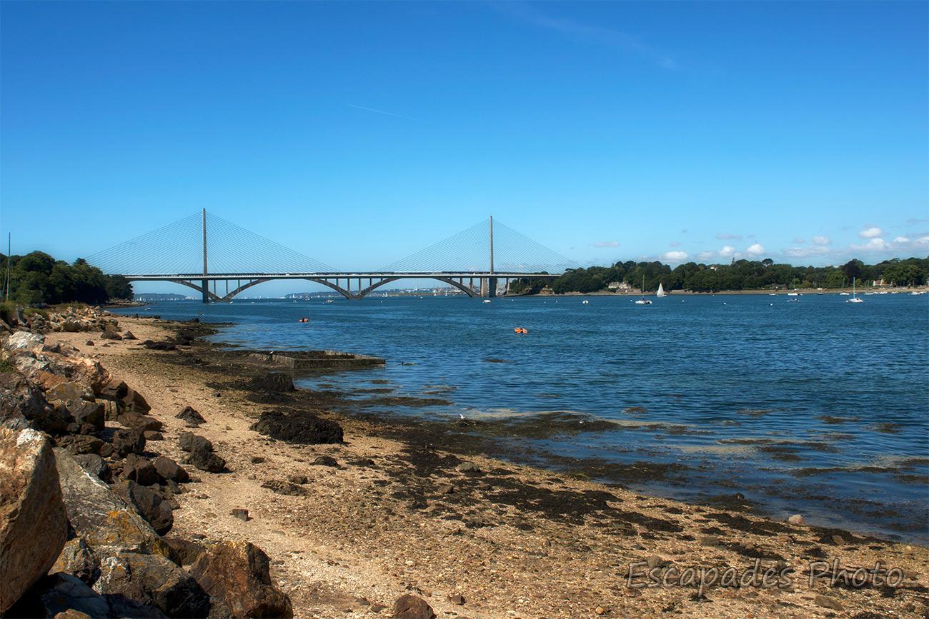 Pont de l'Iroise et le pont Albert Louppe