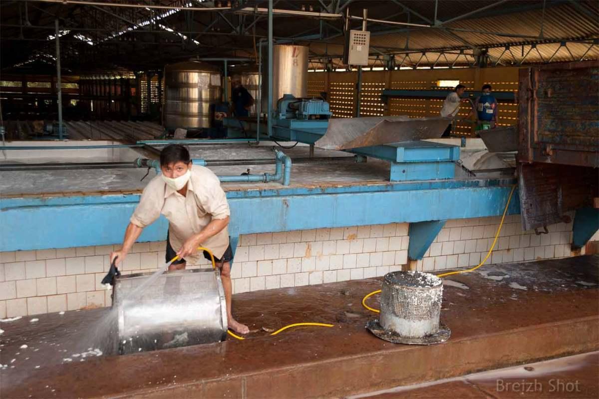 Hygiène et conditions de travail - usine de Chup