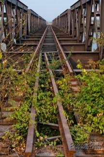 Pont de kampot - rails