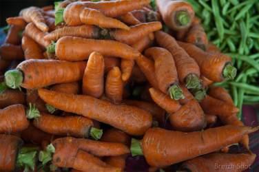 carottes - marché de luang namtha
