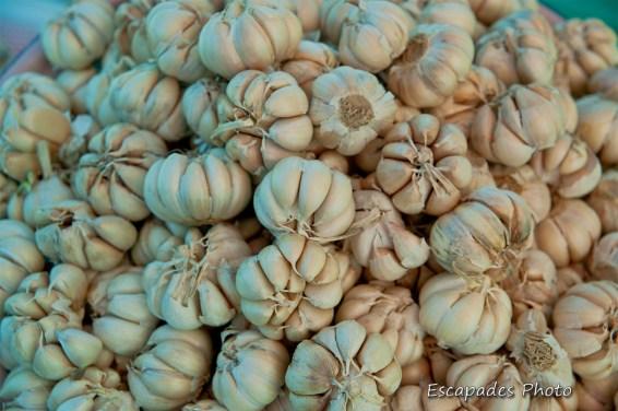Ail - marché de luang namtha