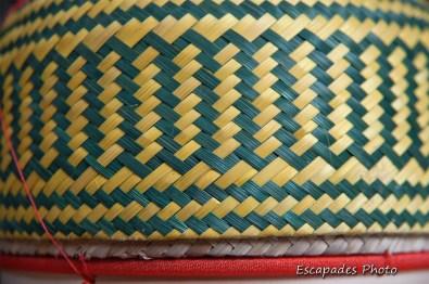 Tressage artisanal - Luang Namtha