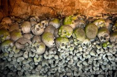Ossements - ossuaire Trégornan