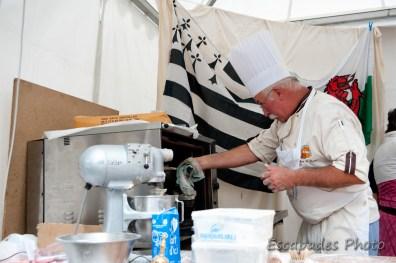 Kouign Amann - la cuisson
