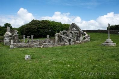ruines de languidou - vue d'ensemble