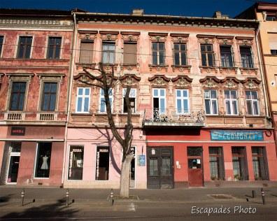 Arad - façades d'immeuble