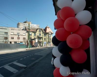Enseigne festive calea Romanilor