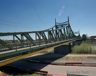 Arad pont métallique sur la Mureș